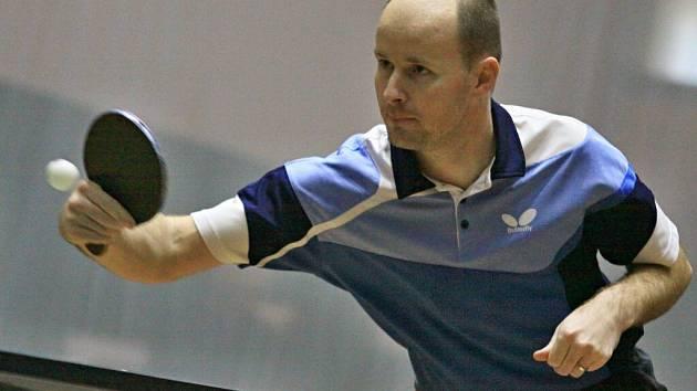 Roman Veselský patří mezi stabilní hráče Žďáru. V sobotu prověří formu jeho týmu Znojmo, v neděli Tišnov.