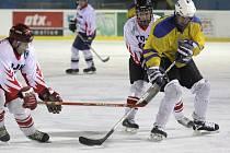 Hokejisté Řečice chytili formu. V důležitém zápase porazili poslední Šerkovice těsným rozdílem 6:5.