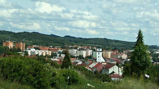 Kostel sv. Mikuláše je dominantou Velkého Meziříčí.