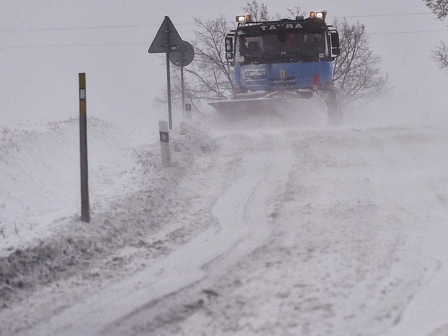 Počasí trápí řidiče na Vysočině i ve čtvrtek 5. ledna.