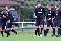 Z posledních tří utkání vytěžili fotbalisté FC Žďas (na snímku) sedm bodů.
