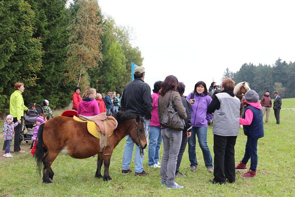Hubertova jízda v Janovičkách.