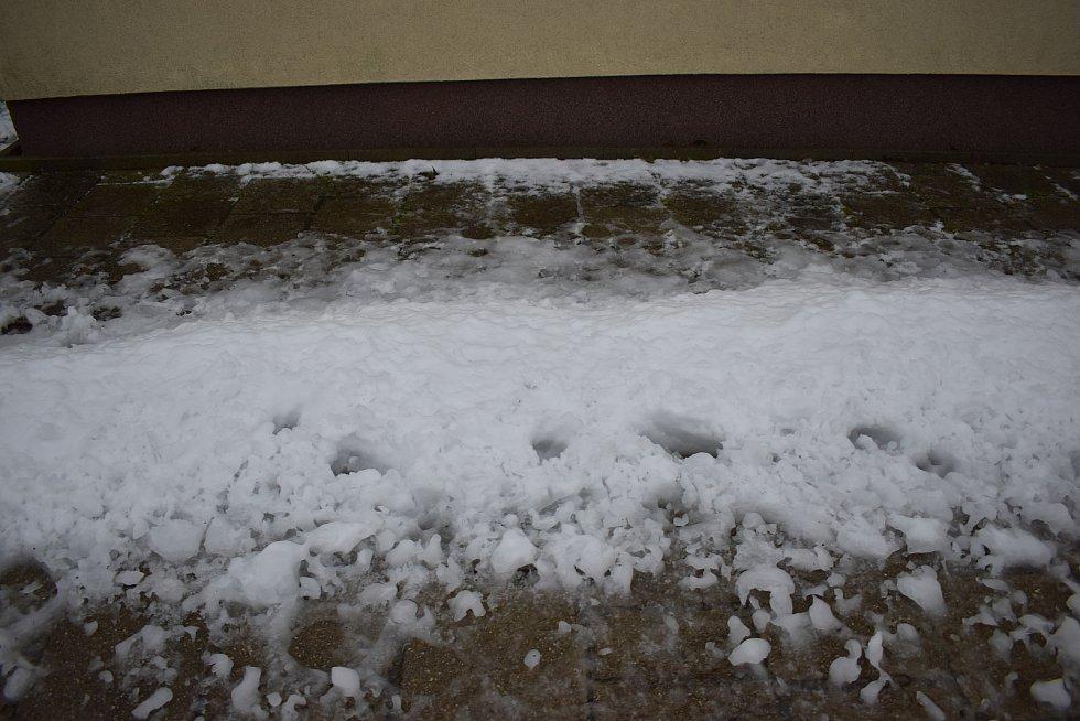 Na Žďársku napadl první sníh.