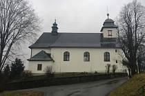 Katolický kostel v Olešné, tvořící dominantu obce, je zasvěcen sv. Maří Magdaleně. Současná fasáda, poškozená povětrnostními vlivy, potřebuje obnovu.
