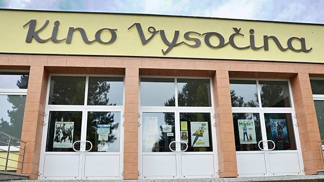 Kino Vysočina ve Žďáře nad Sázavou.