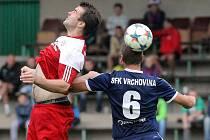 Fotbalisté Vrchoviny přivítají dnes polenský Slavoj.