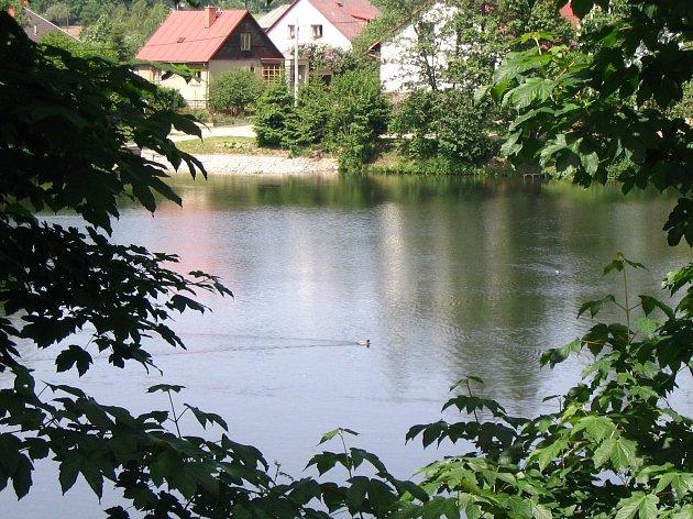 Cihelský rybník.