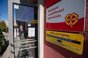 Pošta ve Velkém Meziříčí.