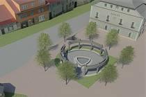 Uvnitř památníku bude fontána s bronzovou sochou svaté Zdislavy od akademického sochaře Otmara Olivy. Projekt podporuje i kardinál Dominik Duka.