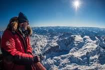 Už podruhé se na bystřickém festivalu outdoorových filmů objeví cestovatel a polárník Václav Sůra (na snímku). V roce 2013 v Bystřici přednášel o nejchladnějším místě světa, letos pohovoří o přechodu zamrzlého mongolského jezera Khuvsghul.
