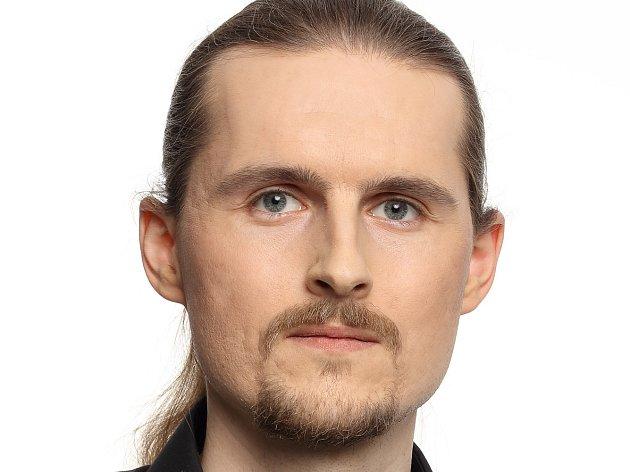 Jan Pošvář, lídr Pirátů na Vysočině.