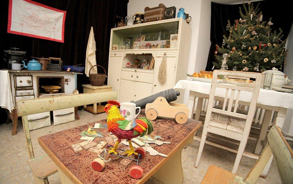 Vánoční výstava Regionálního muzea města Žďár nad Sázavou potrvá až do 15. ledna.