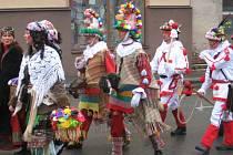 Tradiční masopust v Hlinsku v loňském roce.