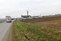 Další část průmyslové zóny má vzniknout mezi ulicemi Jamská a Novoměstská, kde jsou dnes převážně pole.