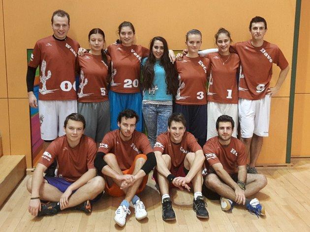 Na finálovém turnaji 1. ligy halového Ultimate Frisbee obsadili žďárští Chupacabras osmé místo.