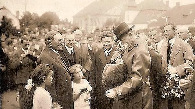 V sobotu se lidé mohou mimo jiné těšit i na připomenutí návštěvy prezidenta Masaryka v Novém Městě na Moravě.