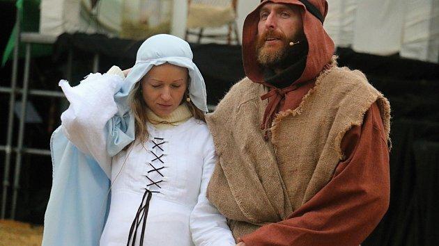 Příběh narození Ježíše Krista v Měříně