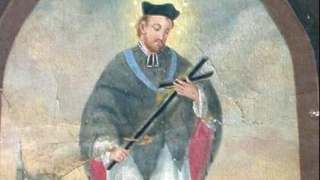 Svatý Jan Nepomucký.