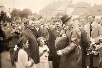 Tomáše Garrique Masaryk v Novém Městě na Moravě.