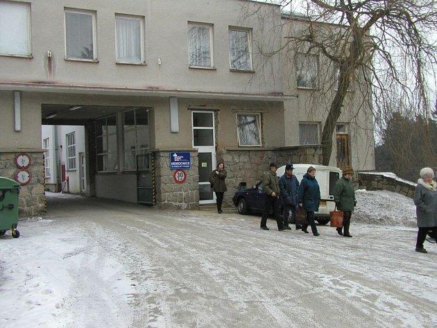 Nemocnice v Mostištích.