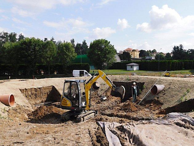 V bystřických Lužánkách staví nové hřiště pro děti. Bude hodně netradiční