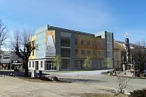 V přízemí nového Bílého lva bude restaurace, kavárna a cukrárna, ve druhém a třetím patře podnikatelský inkubátor a ve čtvrtém velká zasedací místnost.