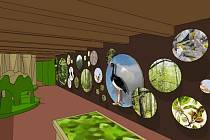 Jedna z expozic, pracovně nazvaná Smíření (na snímku), bude věnována současné ochraně přírody.