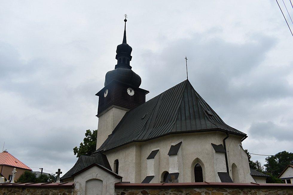 Obec Bobrůvka.