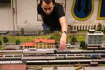 Výstava Klubu železničních modelářů Modelová železnice TT ve Velkém Meziříčí.