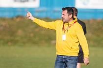 Nejvíce spokojený byl trenér Nového Města Richard Zeman s výkonem jeho oveček na hřišti Blanska.