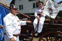 Příznivci hasičského sportu v historické podobě zamířili do Jam na Žďársku. Konaly se tam III. jamské závody koňských stříkaček s mezinárodní účastí.