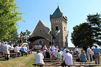 Tradiční cyrilometodějská pouť u vítochovského kostela svatého Michaela.