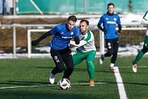 Přípravné utkání FC Žďas Žďár nad Sázavou a FC Hlinsko ze dne 9. února 2020.