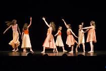 Absolventská vystoupení tanečního oboru Novoměstské základní umělecké školy.
