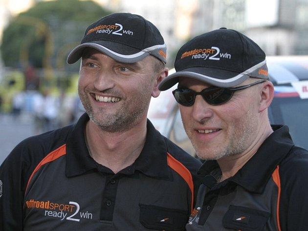 Tomáš Ouředníček (vlevo).