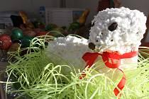 Výrobky inspirované jarem a Velikonocemi nabídnou i v Bobrové.