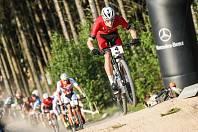 Závody v disciplíně short track v rámci Světového poháru v cross country horských v Novém Městě na Moravě.