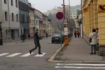 Jako první přijde při připravované rekonstrukci Nádražní ulice na řadu úsek vedoucí od pošty ke kruhové křižovatce pod nádražím.