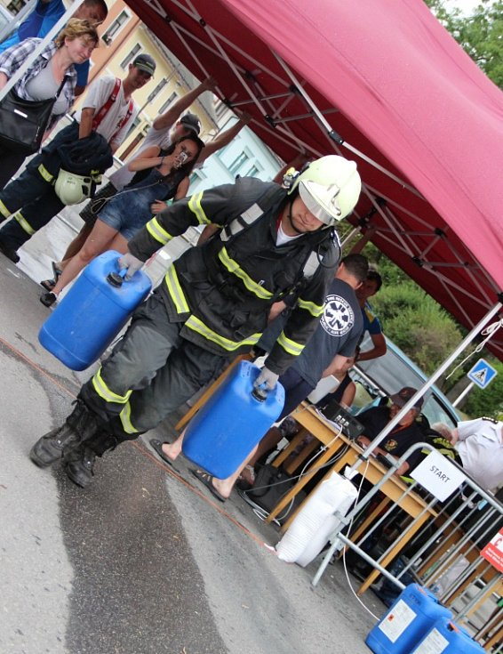 Soutěž Novoměstský železný hasič.