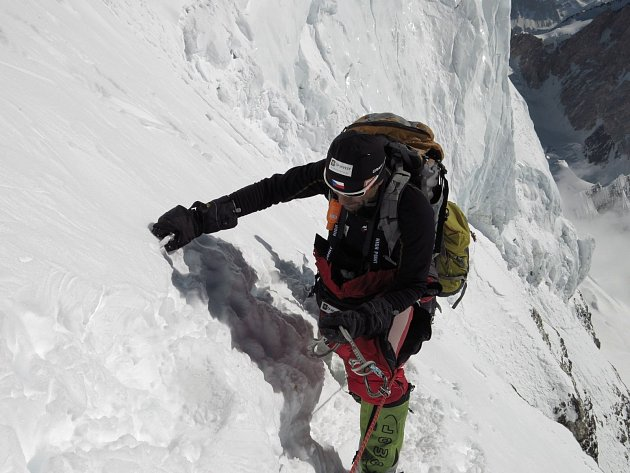 Radek Jaroš na K2.