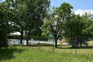 Koupaliště v Bystřici nad Pernštejnem.