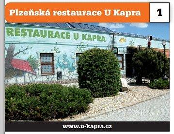 Plzeňská restaurace UKapra