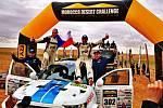 Tomáš Ouředníček s Davidem Křípalem dojeli do cíle náročného Desert Challenge.