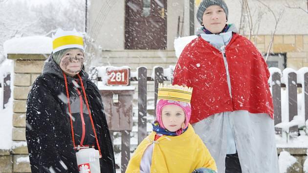Na Žďársku koledují Kašpar, Melichar a Baltazar. Loni vybrali přes tři miliony