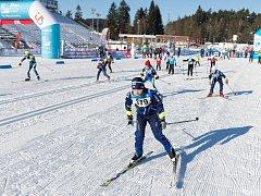 Loňský dětský závod v Novém Městě na Moravě.