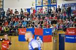 Extraligový zápas házené mezi TJ Sokol Nové Veselí a HBC Jičín.