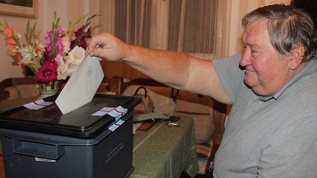 Volby na Vysočině.