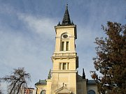 Evangelický kostel v Novém Městě na Moravě.
