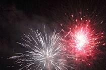Novoroční oslavy na Žďársku.