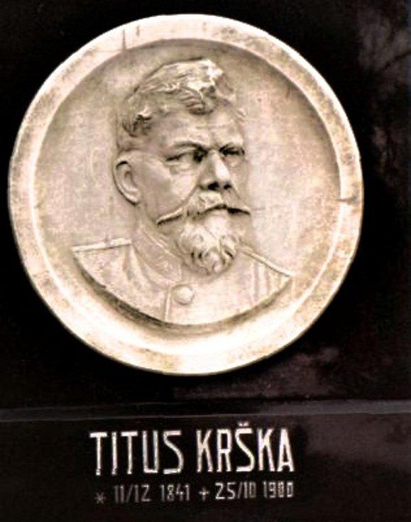 Pomník Tita Kršky.